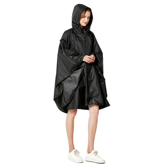 Big Size XXL Women Breathable Raincoat Lightweight Rain Coat Poncho Ladies Waterproof Cloak Raincoats Adults Windproof Rainwear 5