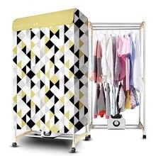 Сушилка для одежды/сушилка для белья, бытовая, 10 кг, 1000 Вт, двухслойная сушилка, HGY1023P-W, отдельно стоящая PTC сушилка для одежды