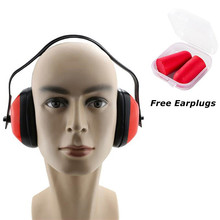 Adjustable Headband Ear muffs Noise Reduction Soundproof Earmuffs Hearing Protection for Study Work Sleep Hunting Shooting Protector