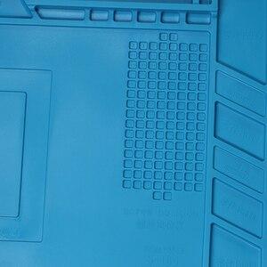 Image 5 - Almohadilla de soldadura de silicona con aislamiento térmico, Plataforma de mantenimiento de escritorio para Estación de reparación con s 160 magnético s 170