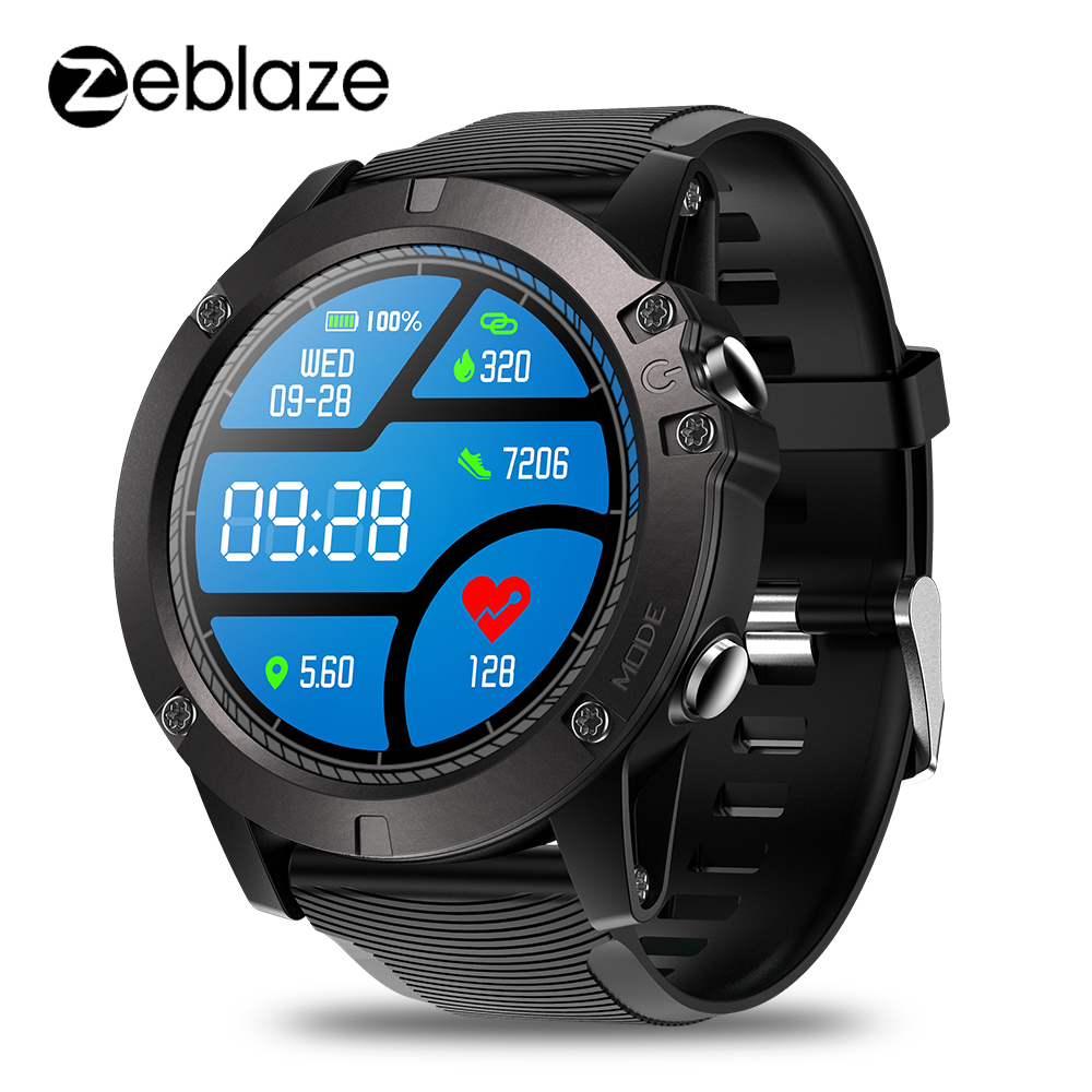 Zeblaze VIBE 3 PRO Smart Watch Bluetooth 4.0 Sports Smartwatch Heart Rate Monitor Proximity Sensor Accelerometer For IOS Android