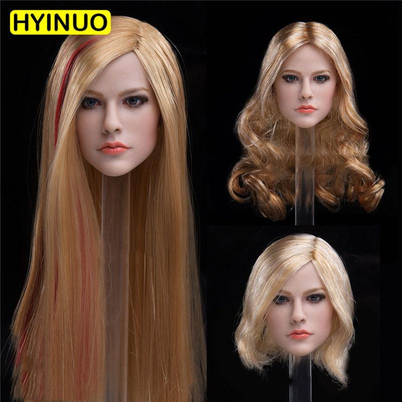 JXtoys 1//6 Wonder Woman Gal Gadot JX-09C Head W Curl Hair Fit 12/'/' Female Figure