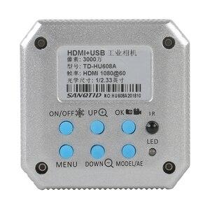 Image 5 - Professionnel numérique HD 30MP 1080P 60FPS USB HDMI industriel vidéo Microscope caméra SD carte enregistreur de stockage + télécommande IR