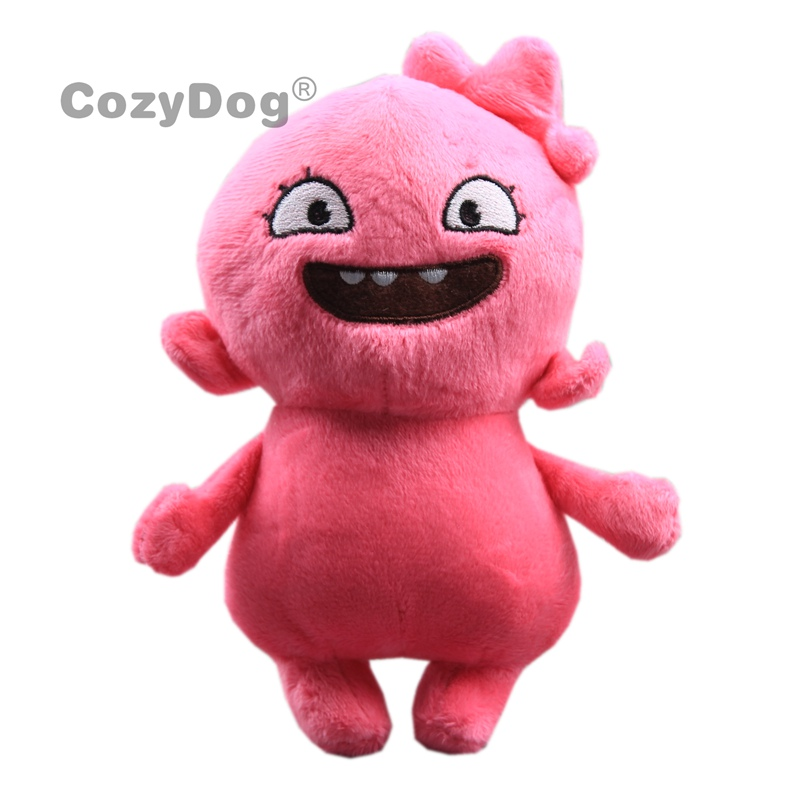 18cm Cute Pink Uglydoll Plush Toys Doll Peluche Japan Cartoon Anime Ugly Doll Pillow Soft Sleeping Toys Baby Kids Birthday Gift
