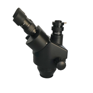 Image 2 - 3.5X 90X Double Boom Zoom Simul Focal Trinocular Stereo Microscope 38MP HDMI USB SMD Microscopio Camera Phone PCB Repair Tools