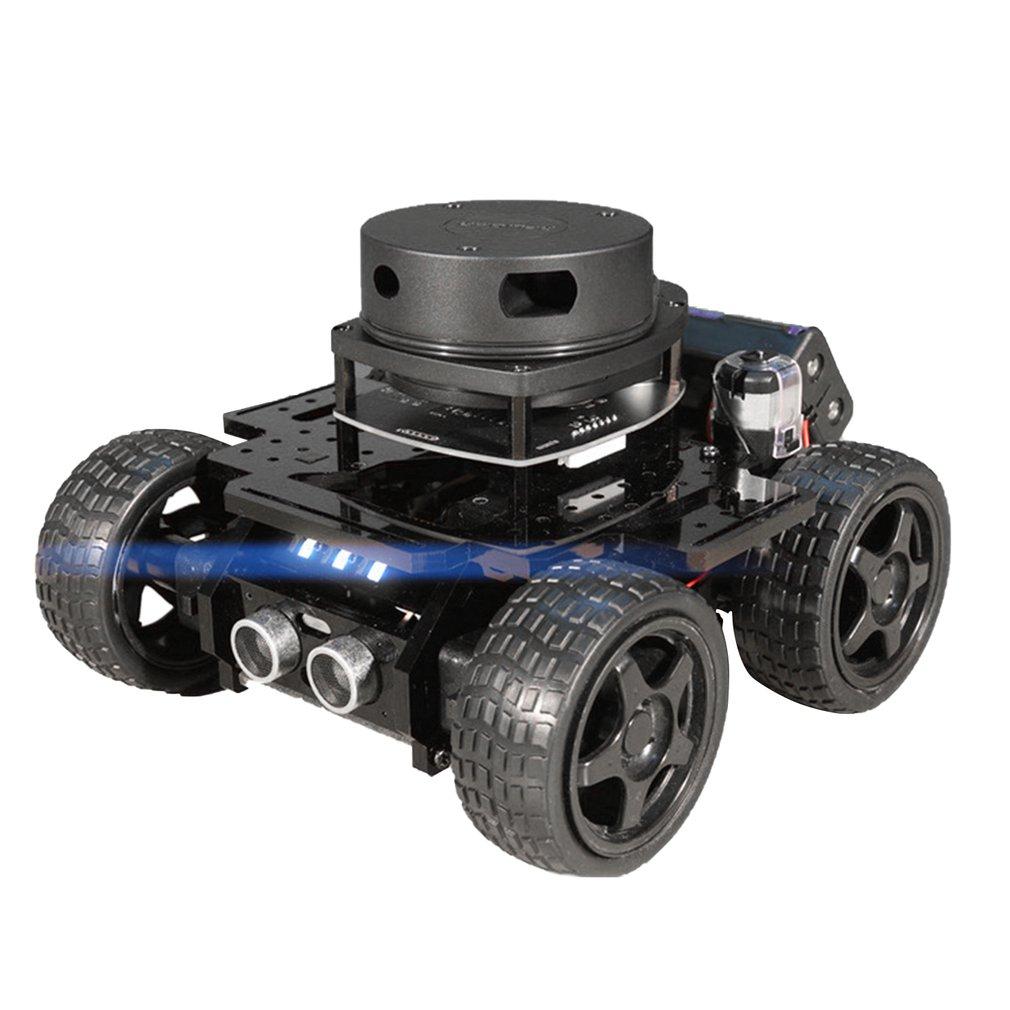 Quatre roues bras mécanique voiture Code Source ouvert App contrôle automatique évitement des obstacles Robot Intelligent cadeau de noël pour enfant