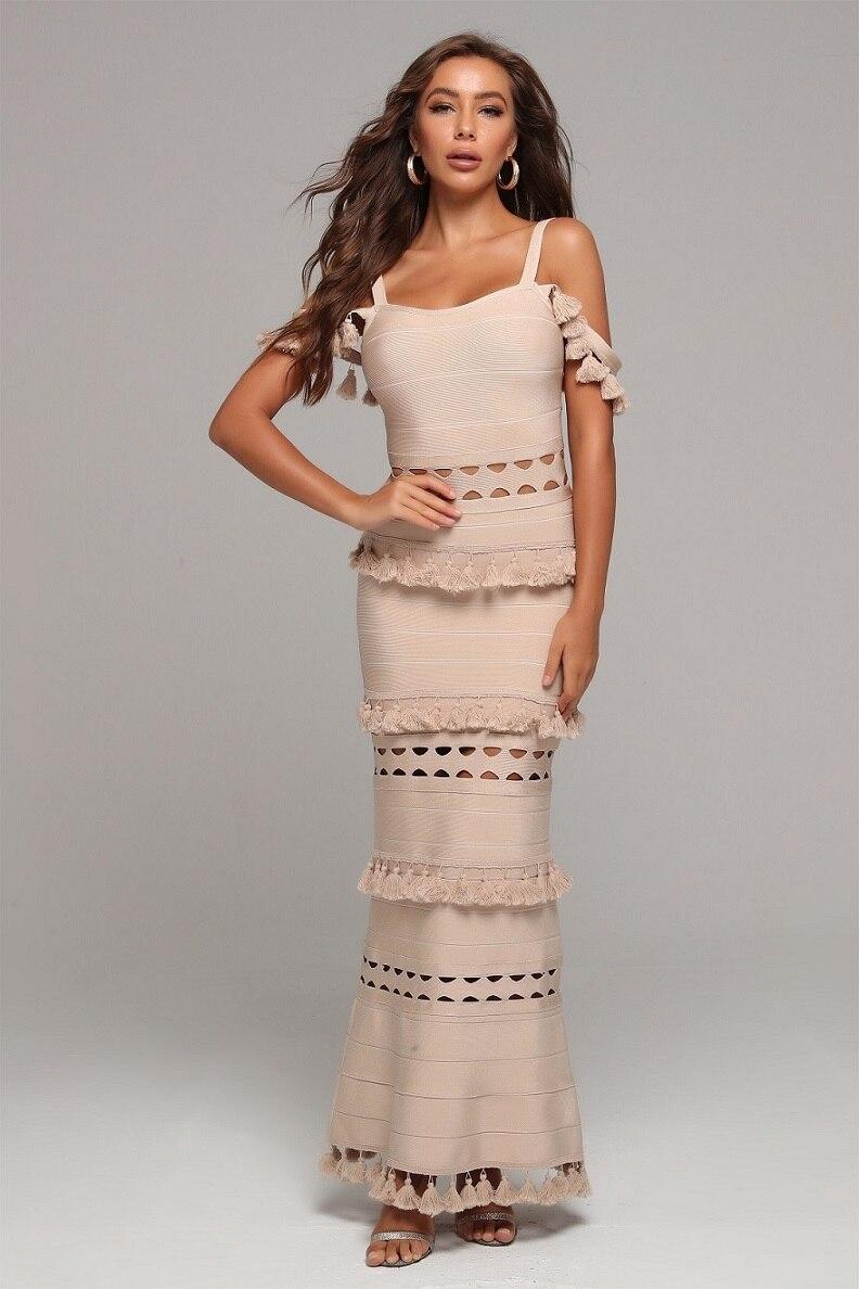 Verband Kleid Lange Top Qualität Elegante Promi Mode Party Kleider Frauen Hochzeit Körper con Sexy Kleid Sommer