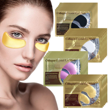 Crystal Collagen Eye Mask Eye Pad Anti Aging Wrinkle Face Mask for the Eye Bag Dark Circle Remover Gel Eye Patches Skin Care