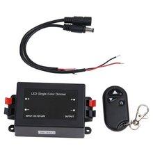 Беспроводной 1 канальный светодиодный регулятор яркости+ пульт дистанционного управления