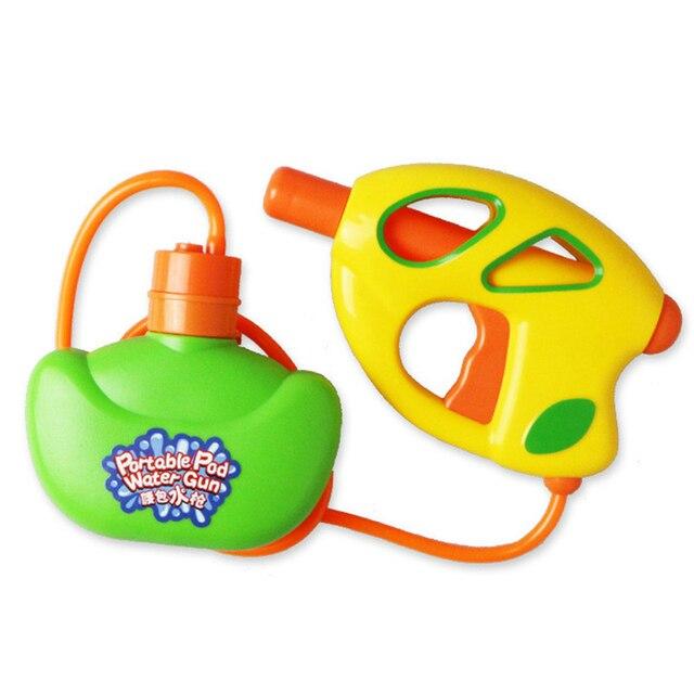 Été enfants arroseur jouets taille sac gicleur jet deau presser canon à eau enfants piscine jeu de plein air plage enfants