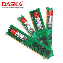 DASKA masaüstü bilgisayar RAMs DDR2 1G 667MHz PC2-5300s 800MHz DIMM ECC olmayan 240-Pin 1.8V intel bilgisayar için bellek
