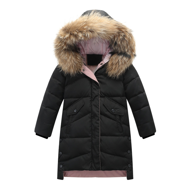 Winter Thick Down Jacket for girls