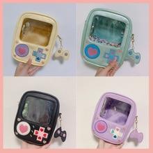 Cute Game Machine Lolita Itabag Transparent 15cm 20cm Dolls Handbag Shoulder Bag Cosplay Harajuku Girl Uniform Messenger Bags