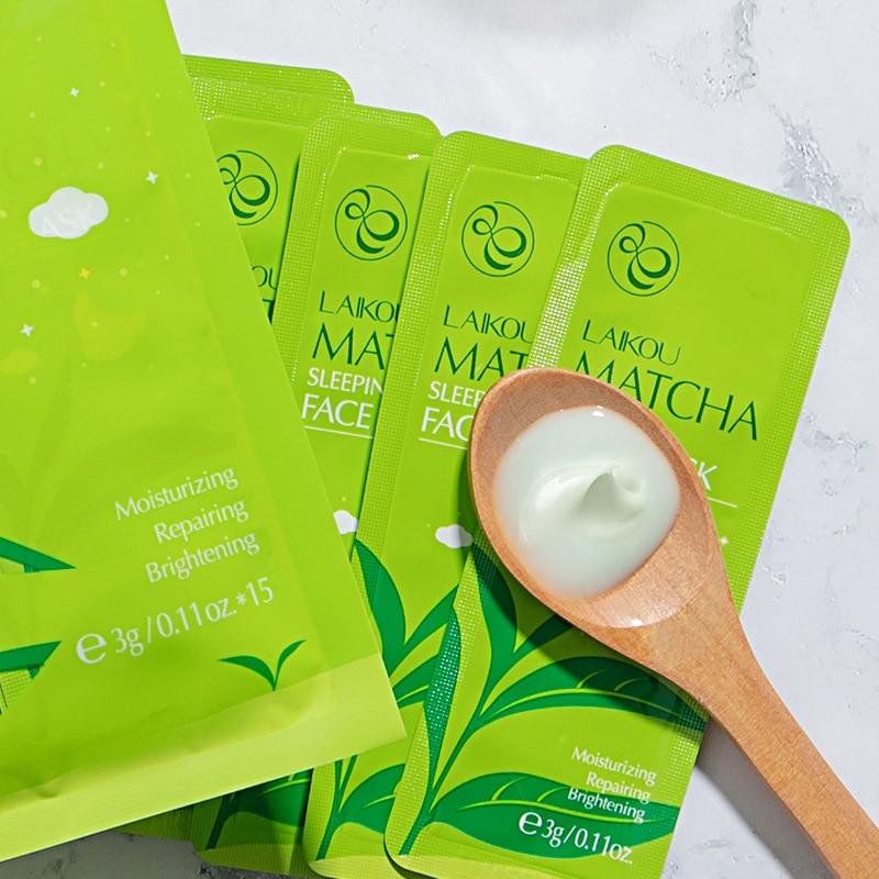 Lotion Face-Cream Water-Essence Hydrating Moisturizing Korea 3g--15pc Sleep-Mask Wash-Free