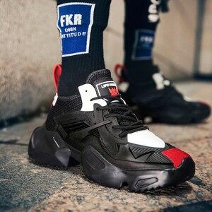Image 3 - JUNSRM zapatillas deportivas de talla grande para hombre, zapatos informales, 38 a 45, 2019