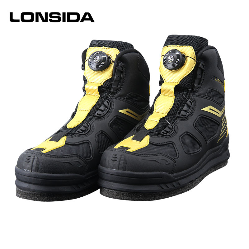 2020 New Men's Fishing Hunting Wading Boots Outdoor Breathable Shoes Size 39-45 Men Anti-slip Rubber Boots For Fishing