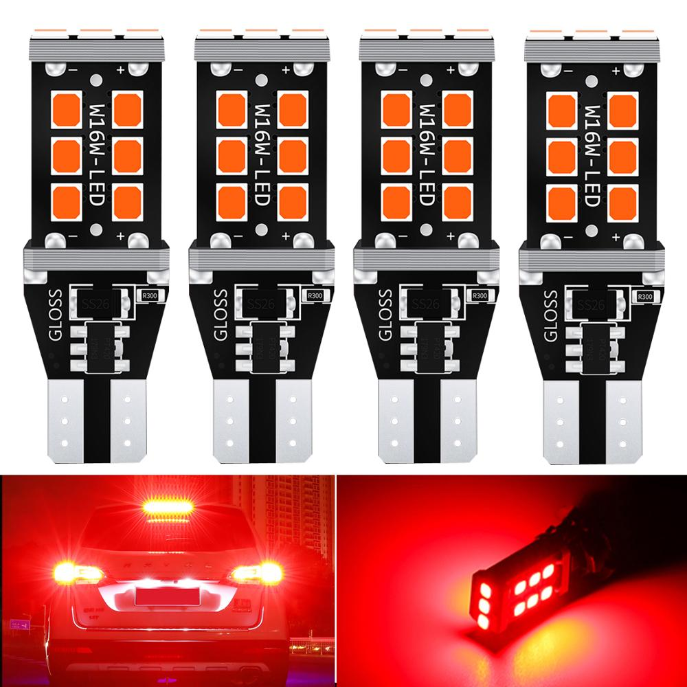 2x <font><b>T15</b></font> <font><b>led</b></font> <font><b>Canbus</b></font> T16 W16W <font><b>LED</b></font> Bulb Car Backup Reverse Lights for Toyota C-HR Corolla Rav4 Yaris Avensis Camry CHR Auris Hilux image