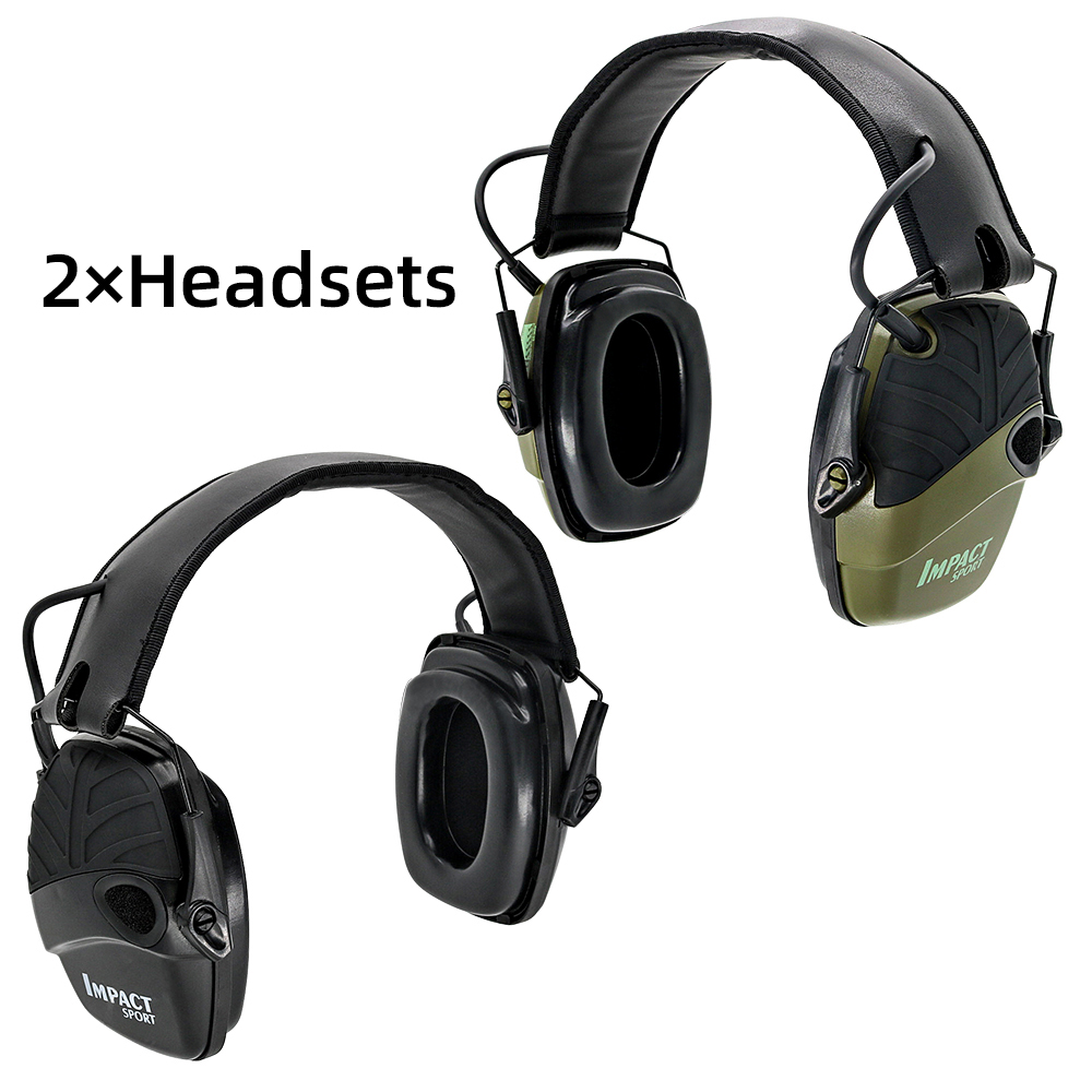 Electronic shooting earmuffs outdoor sports anti-noise sound amplification hearing protection professional glasses
