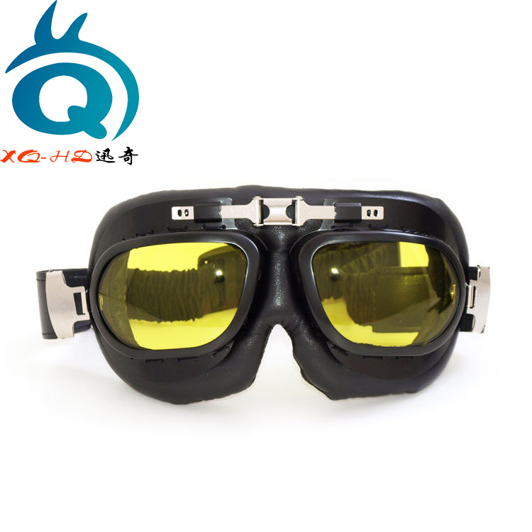 Motorcycle Off-road Goggles Harley Mask Locomotive Windproof Sand Eye-protection Goggles Hide Substance Retro Mask Anti-Shock Gl