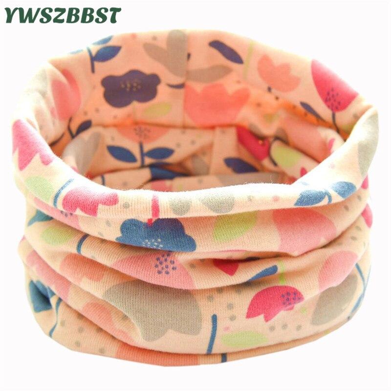 New Autumn Winter Cotton Children's Scarf Spring Baby Kids Scarf Boys Girls Scarves Child O Ring Collar Kids Magic Neckerchief