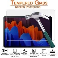 Защитная пленка из закаленного стекла для Samsung galaxy tab S7 11 дюймов Защитная пленка для экрана для SM-T870 SM-T875 T876B защитную пленку с уровнем твердос...