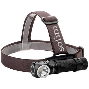 Sofirn SP40 XP-L 1200 Lumen Isi Ulang Lampu Depan 18650 Senter Fungsi Memori Indikator Daya LED Torch