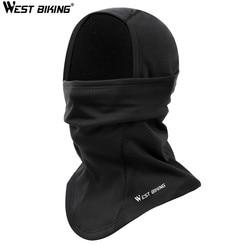 WEST BIKING Winter Cycling Face Mask Cap Thermal Fleece Bike Mask Ski Snowboard Shield Hat Balaclava Hood Full Face Mask