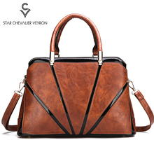 цена на SCV Fashion Women Handbags Brand Shoulder Bag Female Sac Soft Leather Crossbody Bags for Women Designer Big Tote Bag Female Bags