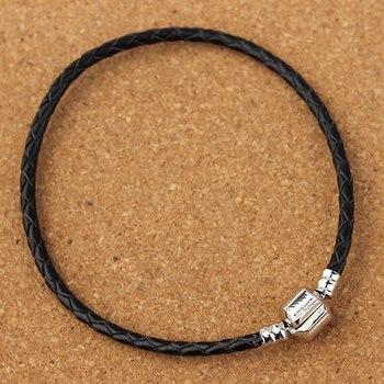 Xinyao 12 Colors 16-20cm Leather Charm Bracelet For Women Fit Original Charm Beads DIY Brand Design Bracelet Dropshipping 3