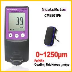 Nikety cyfrowy grubościomierz szerokość przyrządy pomiarowe grubościomierze Tester grubości powłoki farby w Mierniki ultradźwiękowe od Narzędzia na