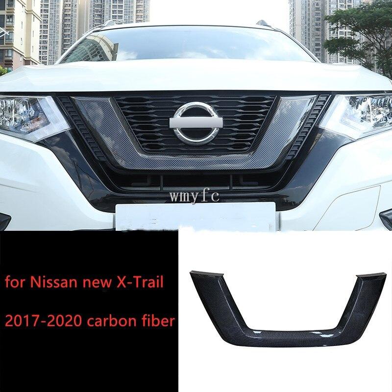 para nissan rogue x trail 2017 2020 personalizado frente central grille protector capa substituicao estilo do