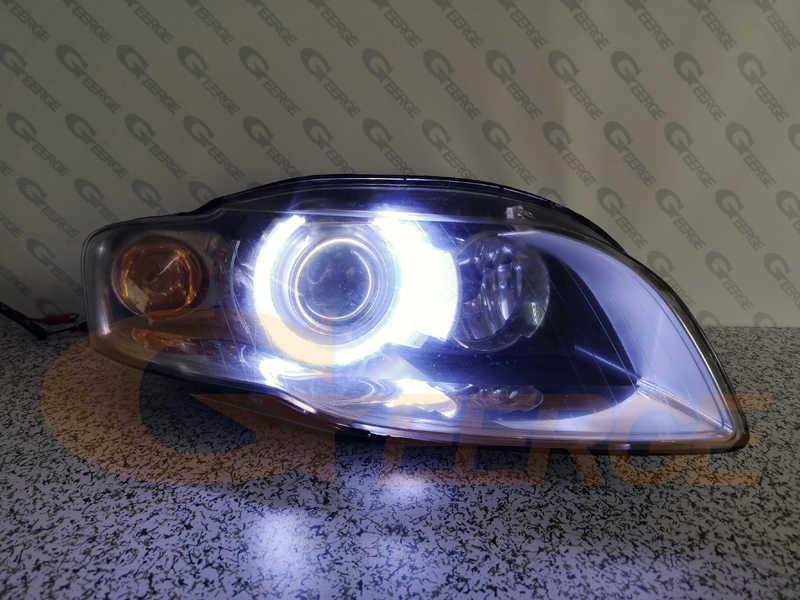 Excellente éclairage Ultra lumineux COB led ange yeux kit halo anneau pour Audi A4 S4 RS4 B7 2004 2005 2006 2007 2008 2009