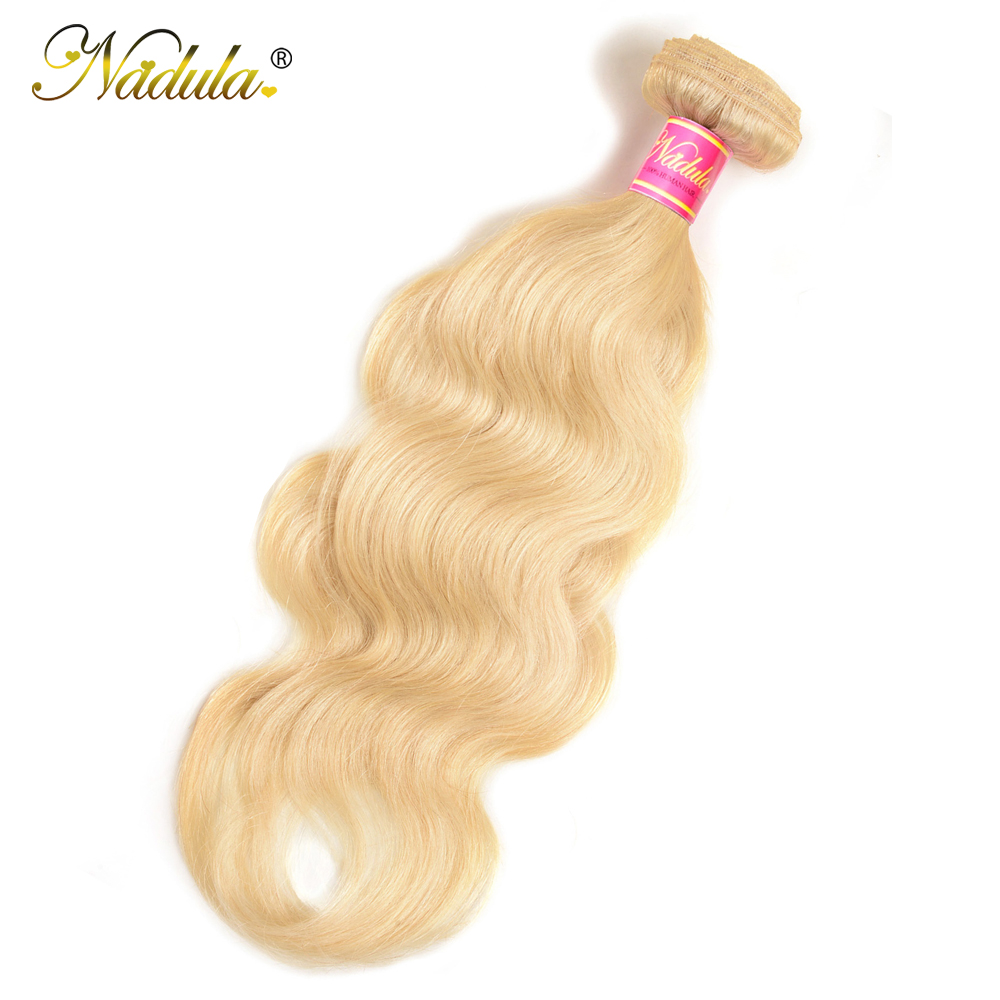 Nadula Body Wave Hair 613 Blonde Hair Wave Bundles    10-24inch Blonde Bundles 4