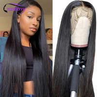 Pelucas de cabello humano con encaje Frontal para mujer, peluca de encaje Frontal, Remy, peluca peruana prearrancada, 360