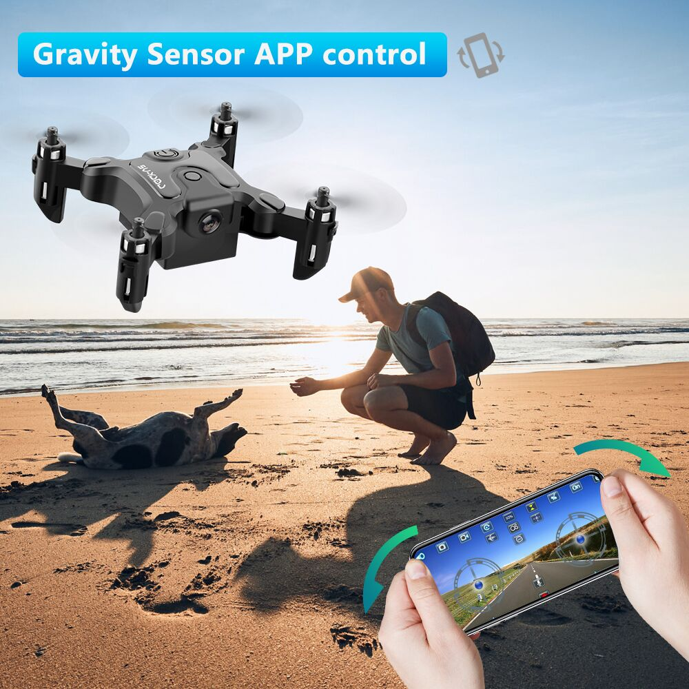 New Mini Drone V2 1080P HD Camera WiFi Fpv Air Pressure Altitude Hold Foldable Quadcopter RC Drone Kid Toy GIft 2