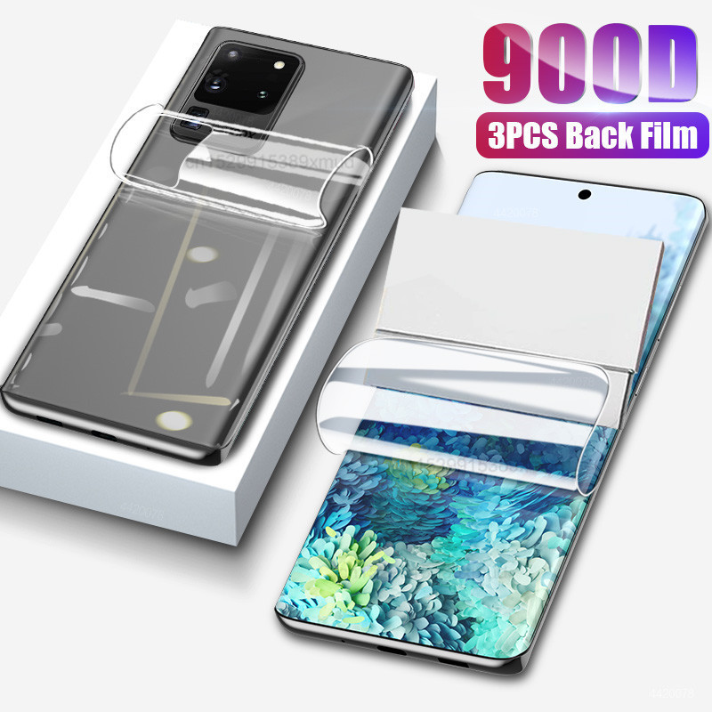 900D Full Cover Screen Protector For Samsung S10 S20 S9 S8 Plus Hydrogel Film For Samsung A51 Note 8 9 10 Plus Film Not Glass 1