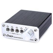 Interruptor de señal de Audio Digital, 4 entradas y 4 salidas, 3,5mm, multicanal, A985