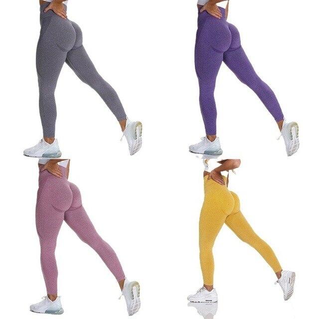 New Vital Seamless Leggings for Women Workout Gym Legging High Waist Fitness Yoga Pants Butt Booty Legging Sports Leggings 3