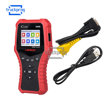 Launch OBD2 Code Reader CR3008 Car Diagnostic Scanner 3008 Read DTC Battery Test Auto Scan tool  online free update launch x431 cr3008 obd2 automotive scanner obdii code reader diagnostic tool check engine battery voltage free update pk kw850