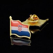 Croatia Country Flag Lapel Pin Made of Metal Souvenir Hat Men Women Waving Epoxy Flag Lapel Pin croatia country flag lapel pin made of metal souvenir hat men women waving epoxy flag lapel pin