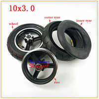 10x3.0 tire inner tube&alloy Disc brake rims for Electric Scooter Balancing Hoverboard 10*3.0 tyres 10 inch pneumatic wheels