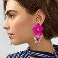 Koreanischen Stil Niedliche Blume Stud Ohrringe Für Frauen 2018 Neue Mode Süße Ohrringe Femme Brinco Großhandel Schmuck