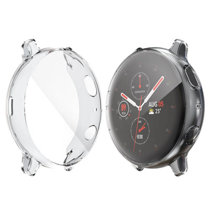 Watch-Case Bumper-Accessories 40mm-Protector Galaxy Active Samsung Full-Coverage Silicone