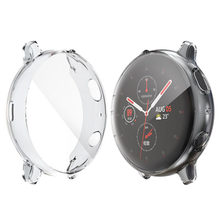 Caso do relógio para samsung galaxy active 2 capa acessórios para carros 40mm protetor de tela silicone cobertura completa relógio casos