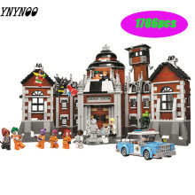 10741 Compatible Legoings Batman DC Comics Arkham Asylum Super Heroes Building Blocks Bricks Toys for children Marvel City Gifts(China)