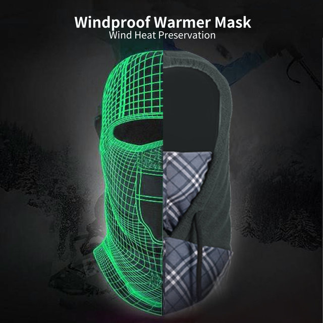 Windproof Fast Dry Warmer Polyester Mask Face Cycling Windshield for Outdoor Sports Motorcycling Skiing Snowboarding 5