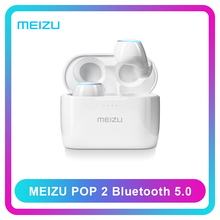 Наушнини 글로벌 버전 Meizu POP 2 TW50S 무선 이어폰 Meizu POP2 Bluetooth 5.0 미니 이어폰 이어 버드 방수