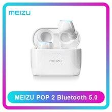 Наушники POP2 Global Versão Meizu Meizu POP 2 TW50S fone de Ouvido Sem Fio Bluetooth 5.0 Mini In Ear Fones de Ouvido À Prova D Água
