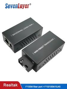 Image 1 - تحويل وسائل الإعلام الألياف الإرسال والاستقبال HTB 3100 الألياف البصرية واحدة الألياف تحويل 20 كجم SC 10/100M واحدة واحدة الوضع الألياف