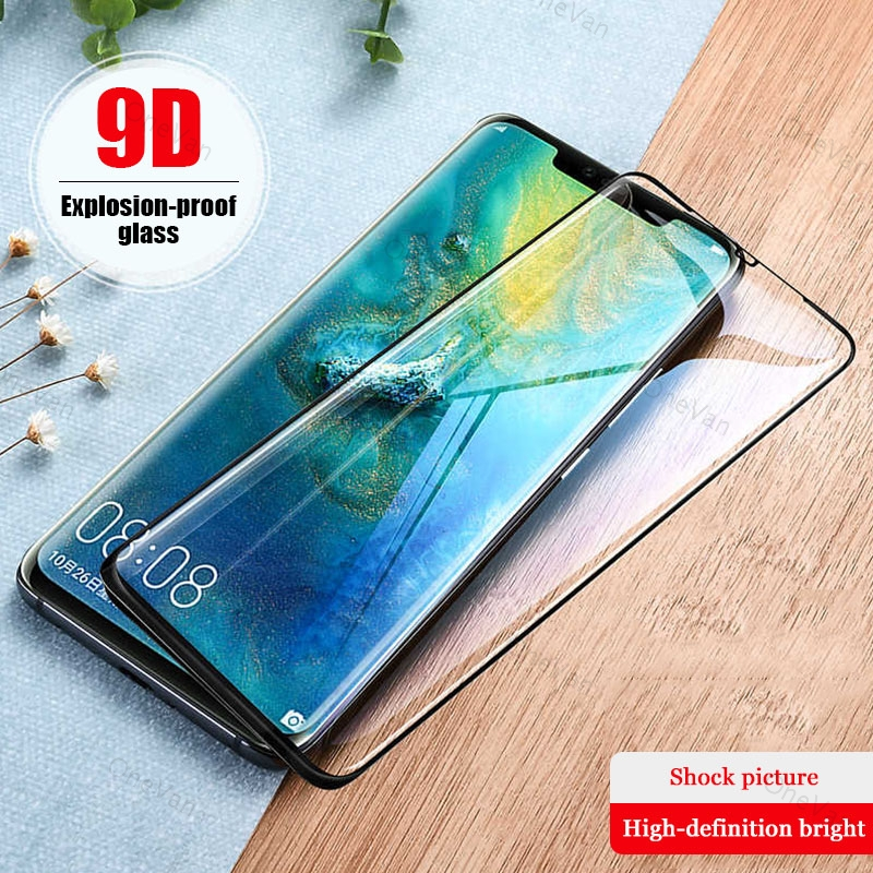 Screen Protector For <font><b>Huawei</b></font> <font><b>Mate</b></font> <font><b>20</b></font> X <font><b>Pro</b></font> Lite Hard Tempered <font><b>Glass</b></font> For <font><b>Huawei</b></font> <font><b>Mate</b></font> 9 10 Lite <font><b>Pro</b></font> All Glue Full Cover HD image